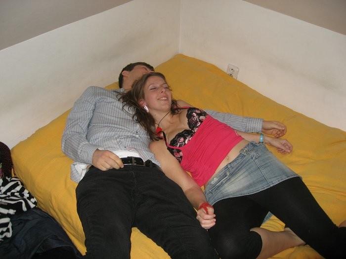 Пьяные девахи из Чехии